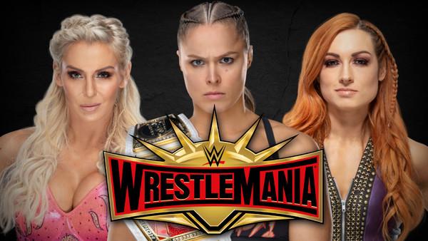 Wrestlemania Main Event? Lynch Flair Rousey