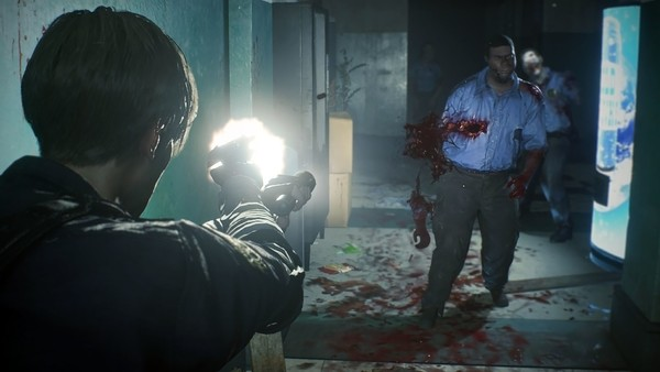 Resident Evil 2 Remake Zombies