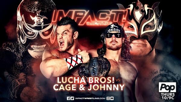 Johnny Impact Brian Cage Lucha Bros