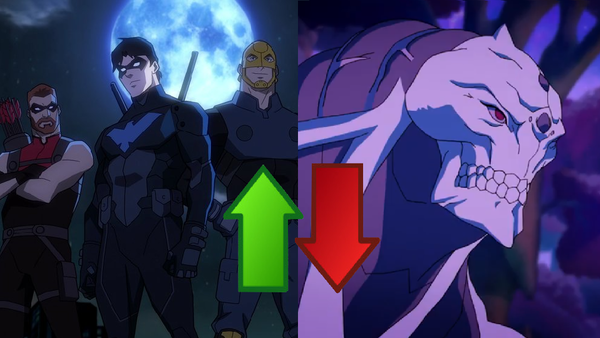 Young Justice Outsiders Ups Downs 2