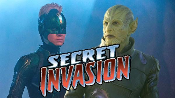 Captain Marvel Skrulls Secret Invasion