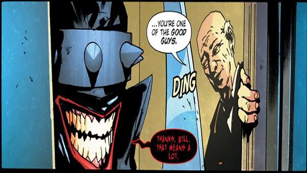 Batman Who Laughs #2 Thanks Bill