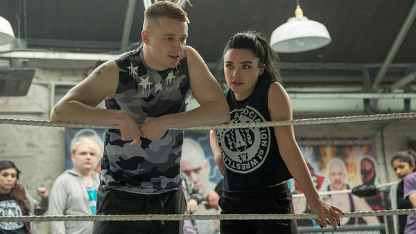 Fighting With My Family Jack Lowden Florence Pugh