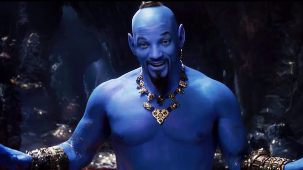 Aladdin Will Smith Genie