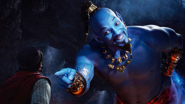 Aladdin Blue Genie