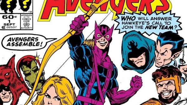 Hawkeye West Coast Avengers