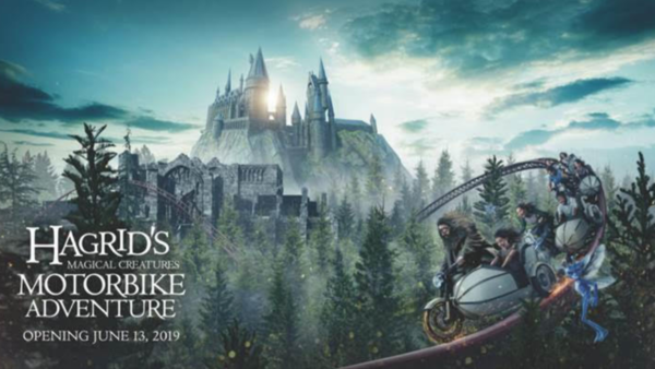 Universal Orlando Resort Hagrid Motorbike
