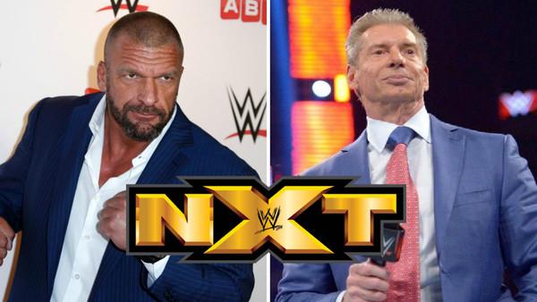 Vince McMahon Triple H NXT