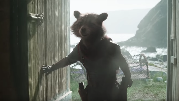 Avengers Endgame Super Bowl Rocket Raccoon
