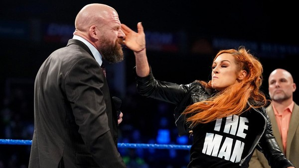Triple H Becky Lynch