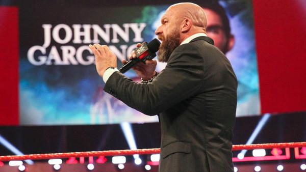 Triple H Johnny Gargano