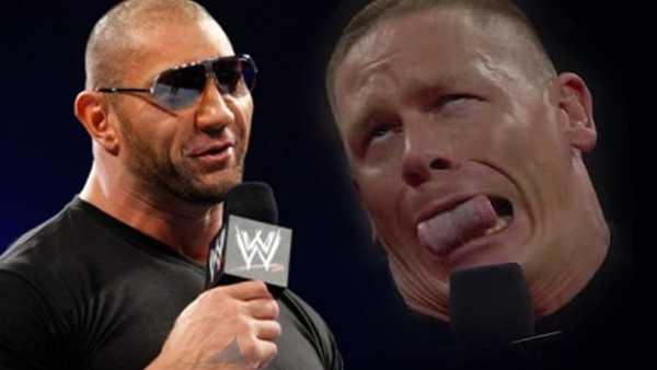 Batista Shoots On The Rock And John Cena's Acting Careers