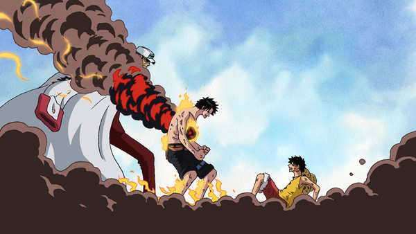 The Death Of Ace - One Piece