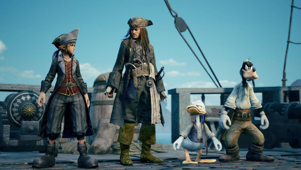 Kingdom Hearts 3 Pirates Of The Caribbean