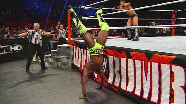 Kofi Kingston Royal Rumble 2016