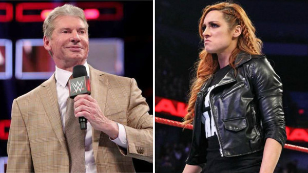 Becky Lynch Vince McMahon