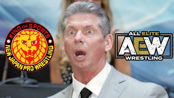 Vince McMahon NJPW AEW