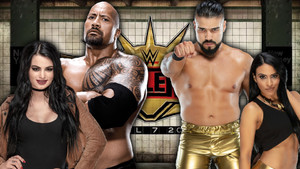 Wrestlemania 35 Zelina Vega Andrade The Rock Paige