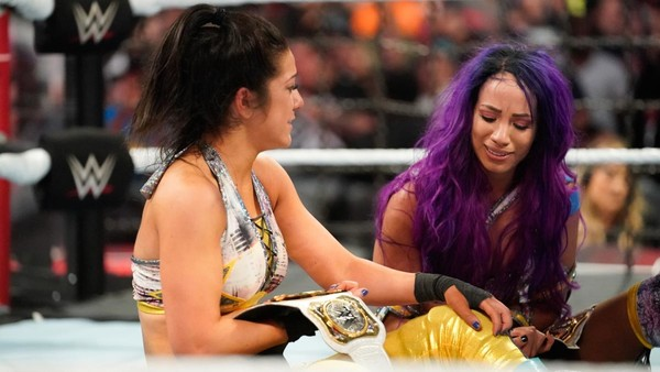 926cbae809af63 WWE Crown Inaugural Women s Tag Team Champions At Elimination Chamber 2019