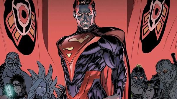 Injustice Superman Comic
