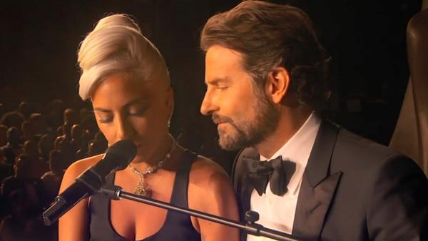 Oscars 2019 Lady Gaga Bradley Cooper