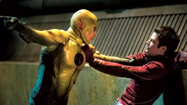 The Flash Reverse Flash Barry