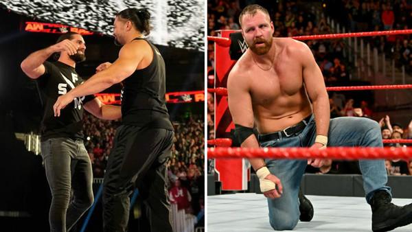 Seth Rollins Roman Reigns Dean Ambrose
