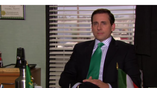 The Office Michael Scott Italian flag