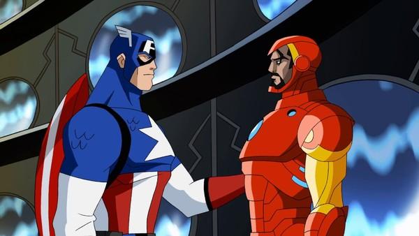 iron man captain america earth's mightiest heroes