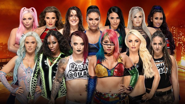 WrestleMania Women's Battle Royal
