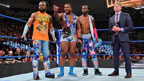 Vince McMahon The New Day