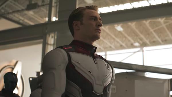 Avengers Endgame Trailer Cap