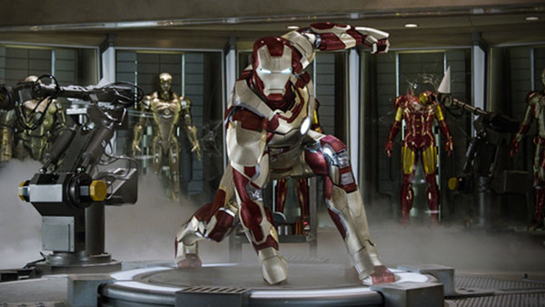 Iron Man 3 Hall Of Armours