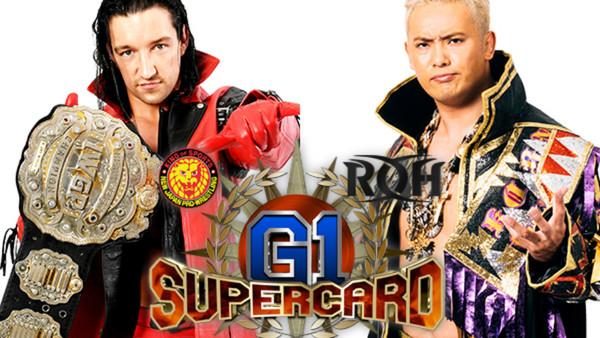 Jay White Kazuchika Okada G1 Supercard