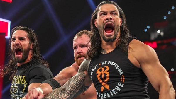 The Shield reunite