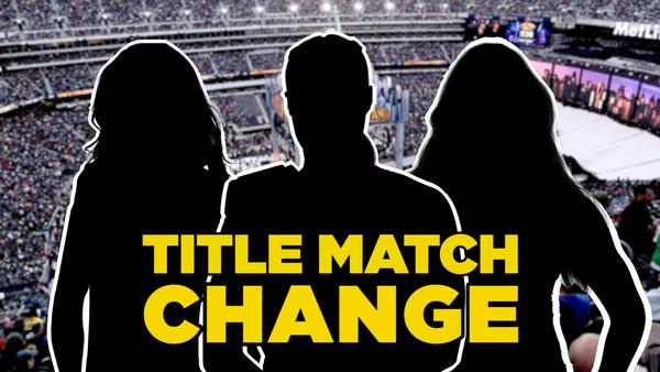 WrestleMania Title Tease