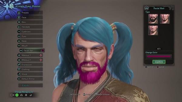 Monster Hunter World Character Creator 2