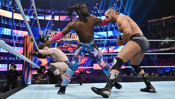 WWE Fastlane 2019 Kofi Kingston Sheamus Cesaro