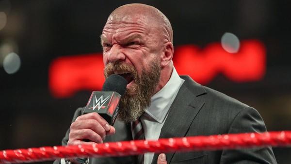 Triple H angry