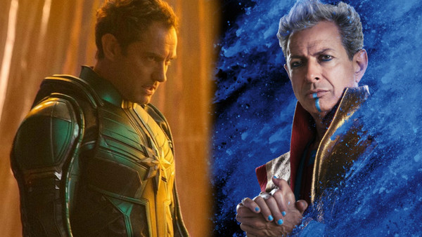 Captain Marvel Thor Ragnarok Grandmaster