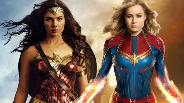Wonder Woman Captain Marvel