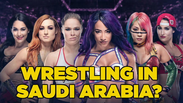 WWE Women Saudi Arabia