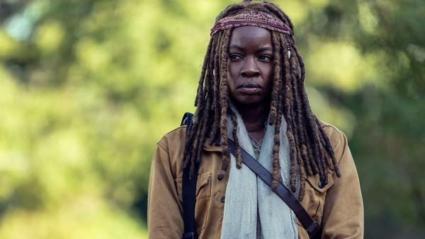 The Walking Dead Scars Michonne