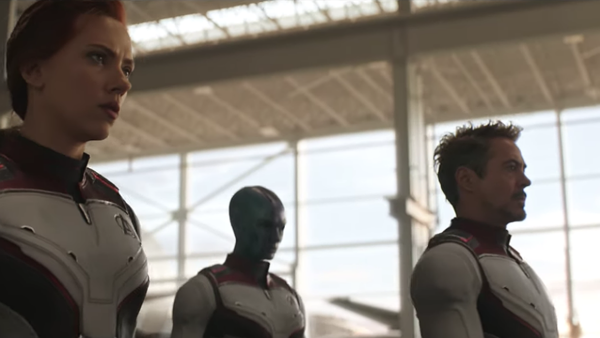 Avengers Endgame Trailer Quantum Realm Suits