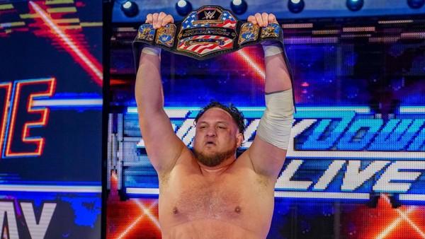 Samoa Joe US Title