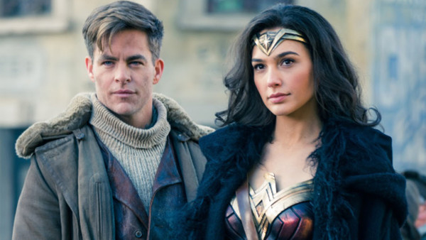 Wonder Woman Diana Steve Trevor