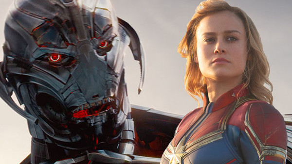 Captain Marvel Ultron