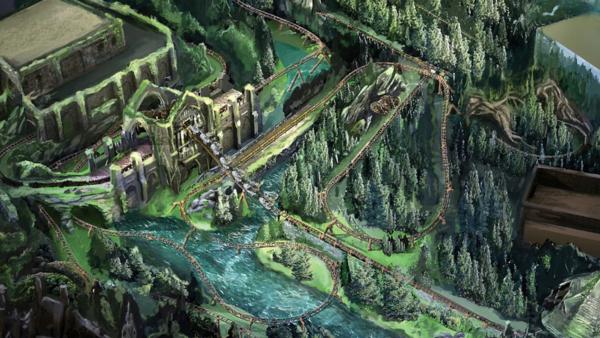 Universal Orlando Hagrid Magical Creatures Motorbike Adventure