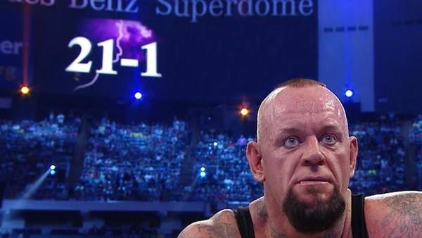 Streak 21-1 Wrestlemania 30 Brock