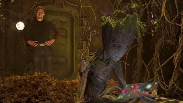 Guardians Of The Galaxy Vol 2 Groot Star Lord